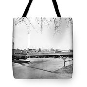 Park & Shop Early Strip Mall Tote Bag