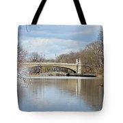 Park Avenue Bridge Tote Bag