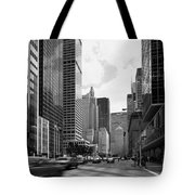 Park Avenue In New York City Tote Bag