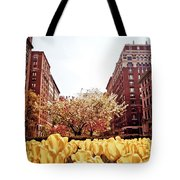 Park Avenue In The Spring  Tote Bag