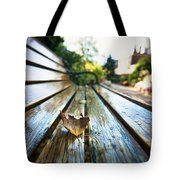 Park Bench Tote Bag by Eric Gendron
