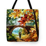 Park Bridge Tote Bag