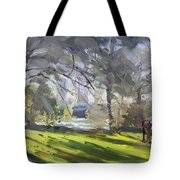 Park By Niagara Falls River Tote Bag