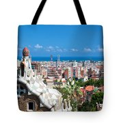 Park Guell Barcelona Tote Bag