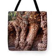 Park Guell Colonnade No1 Unframed Tote Bag