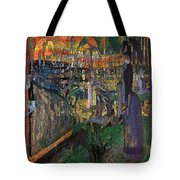 Park Munch Scream  7 Tote Bag