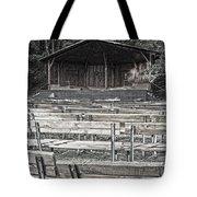 Park Pavilion Stage Tote Bag