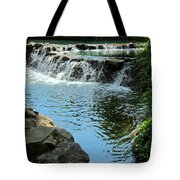 Park Waterfall Tote Bag
