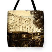 Parked Model A's Tote Bag