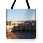 Parker Canyon Dam Tote Bag