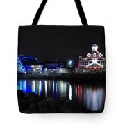 Parker's Lighthouse Reflections Tote Bag
