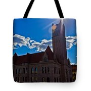 Parkersburg Courthouse Tote Bag