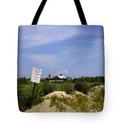 Parking By Permit - Town Of Southhampton Tote Bag