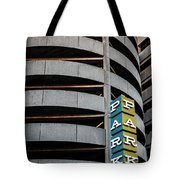 Parking In The Round Tote Bag
