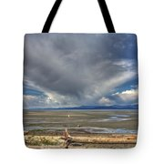 Parksville Beach - Low Tide Tote Bag