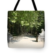 Parkway Chateau Chenonceaux  France Tote Bag