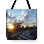 Parkway Sunset Tote Bag