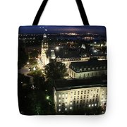 Parlament Quebec At Night  Tote Bag