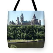 Parliament Hill - Ottawa Tote Bag