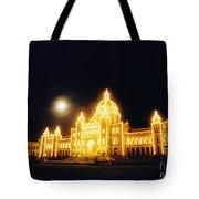 Parliment Building Victoria Tote Bag