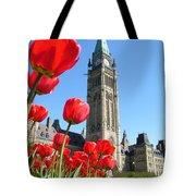 Parliament Hill, Ottawa Tote Bag