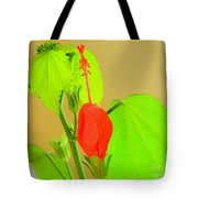 Parlor Maple Flower Tote Bag