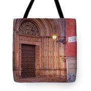 Parma Baptistery Doorway Tote Bag