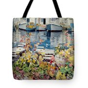 Paros Tote Bag by Jeremy Annett