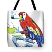 Parrot Cartoon Tote Bag
