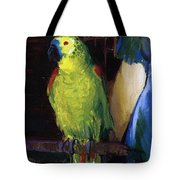 Parrot Tote Bag by George Wesley Bellows