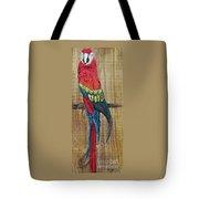 Parrot - Scarlet Macaw Tote Bag