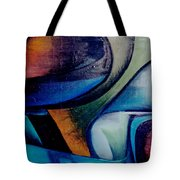 Part Of An Abstract Painting Tote Bag