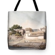 Part Of The City Of Patna, On The River Tote Bag