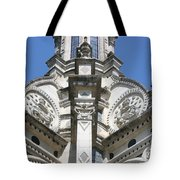 Part Of The Crown - Palace Chambord - France  Tote Bag