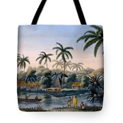 Part Of The Village Of Matavae, Coconut Tote Bag