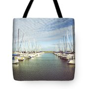 Parted Tote Bag