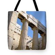 Parthenon 3 Tote Bag