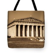 Parthenon In Sepia 3 Tote Bag