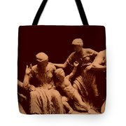 Parthenon Sculpture Tote Bag