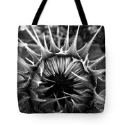 Partial Eclipse Of The Sunflower - Bw Tote Bag