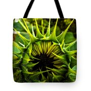 Partial Eclipse Of The Sunflower Tote Bag