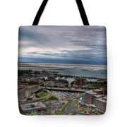 Partially Thawed Lake Erie  Tote Bag
