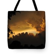 Parting Clouds Tote Bag
