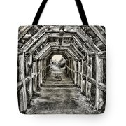 Partington Cove Tunnel By Diana Sainz Tote Bag