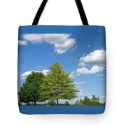 Partly Cloudy Day Tote Bag