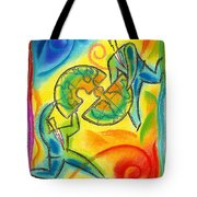 Partnership Tote Bag by Leon Zernitsky