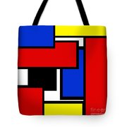 Partridge Family Abstract 1 C Square Tote Bag