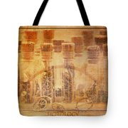 Parts Of Time Tote Bag by Fran Riley