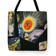 Parts Of Universe Tote Bag