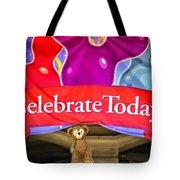 Party Bear Tote Bag